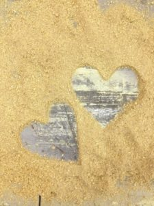stone hearts in sand the kindness zone making relationships work